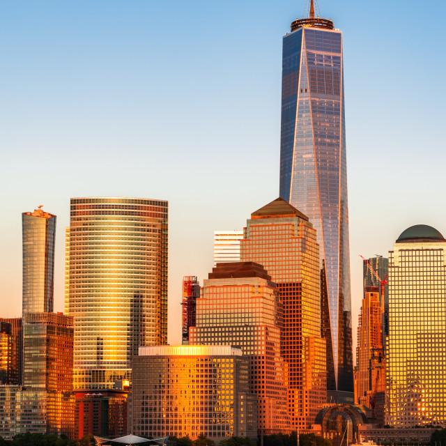 """Manhattan - New York City, United States of America"" stock image"