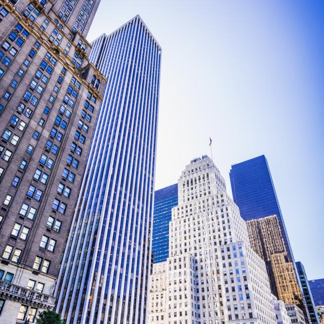 """Manhattan, New York City - United States"" stock image"