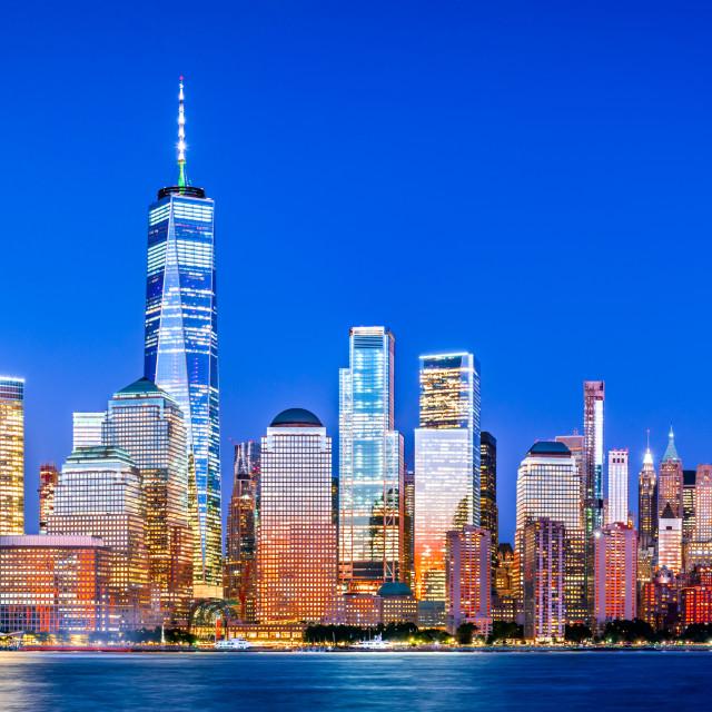 """New York City, Manhattan - United States"" stock image"