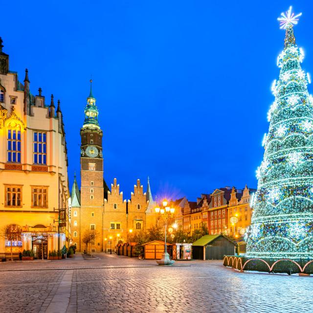 """Wroclaw, Poland - Christmas Market"" stock image"