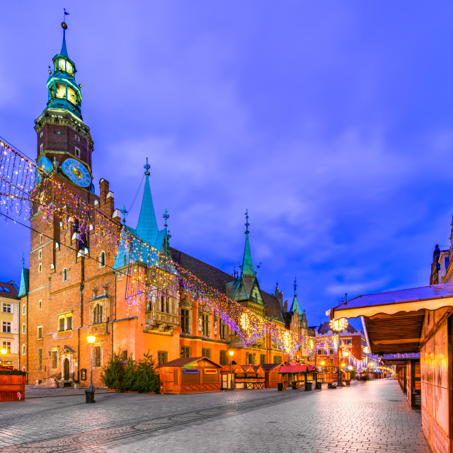 """Wroclaw, Poland - Winter Christmas Market"" stock image"