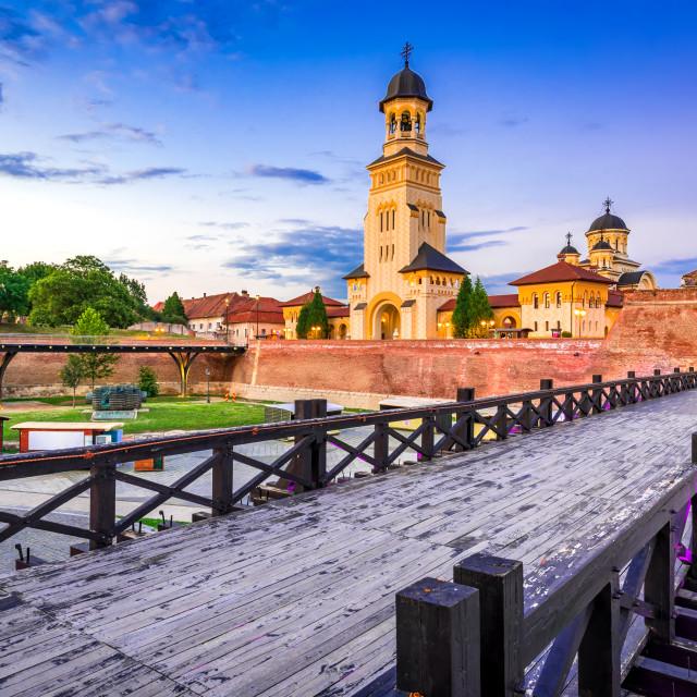 """Alba Iulia, Romania - Alba Carolina fortress"" stock image"