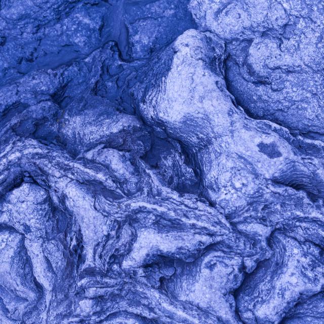 """Blue Rock"" stock image"