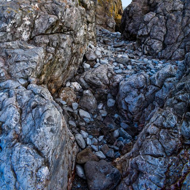 """Rock Gully"" stock image"