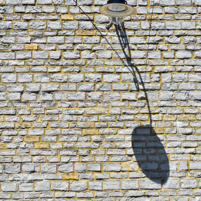 """Shadow Lamp"" stock image"