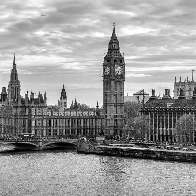 """London & Bigben"" stock image"