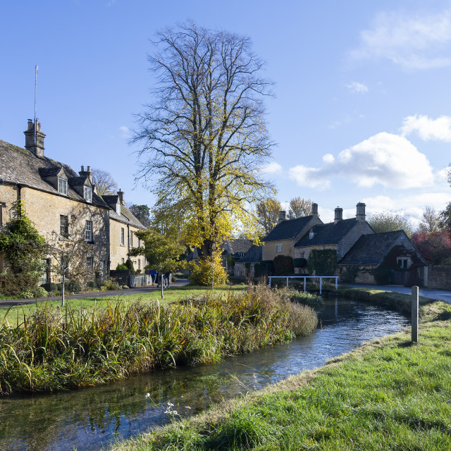 """""""Cotswold Village"""" stock image"""