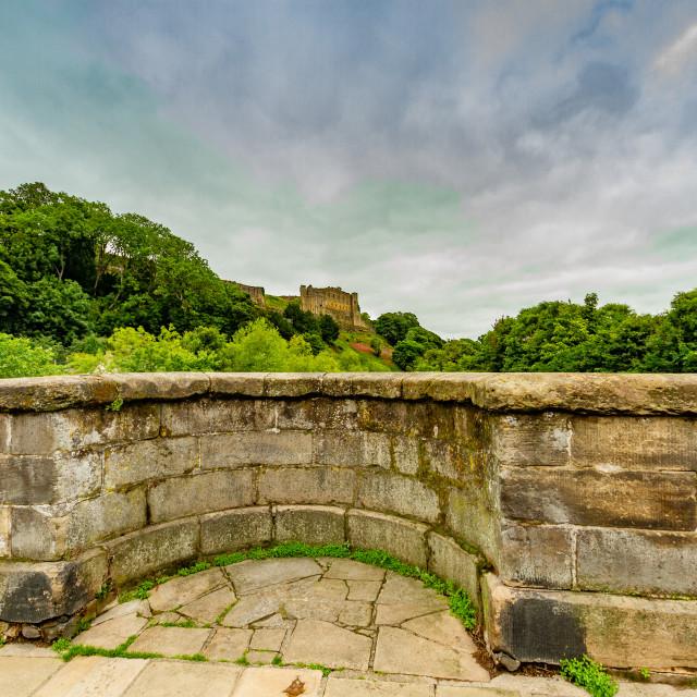 """Green Bridge, Richmond, North Yorkshire, England,"" stock image"