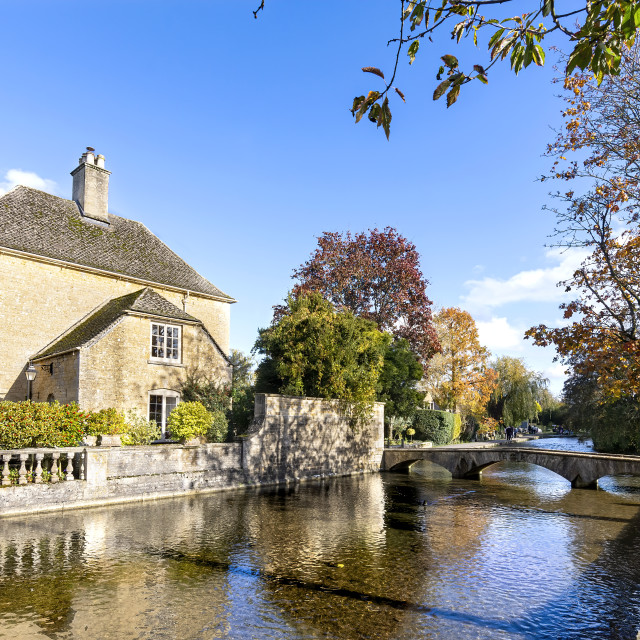 """""""Bourton-on-the-Water"""" stock image"""