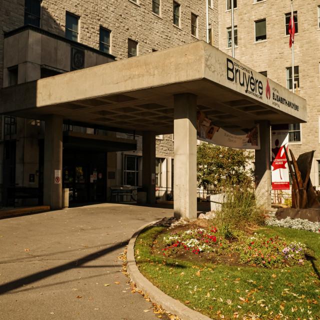 """Elisabeth Bruyere Hospital in Ottawa"" stock image"