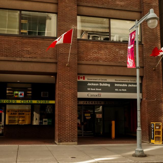 """Jackson Building in downtown Ottawa"" stock image"