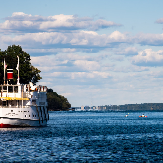 """""""Canadian Empress St. Lawrence River cruise ship"""" stock image"""