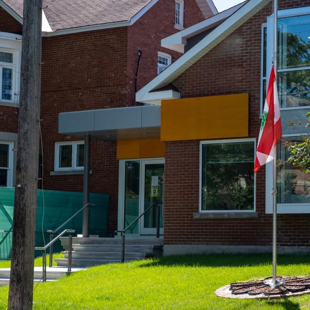 """Embassy of Lebanon in Ottawa, Canada"" stock image"