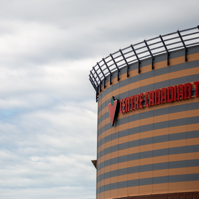 """""""Canadian Tire Centre Upper Exterior in Ottawa"""" stock image"""