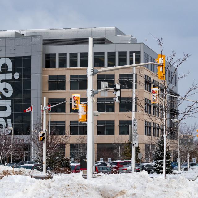 """Ciena Corporation Offices in Ottawa, Ontario"" stock image"