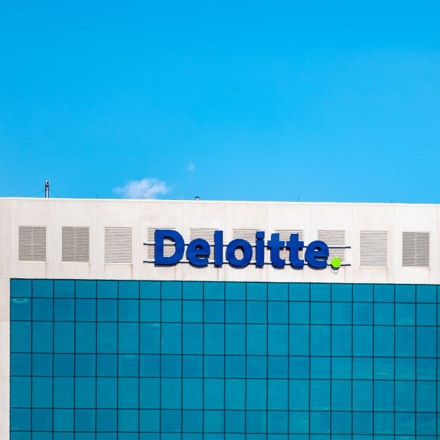"""""""Deloitte Canada Offices in Kanata, Ontario"""" stock image"""