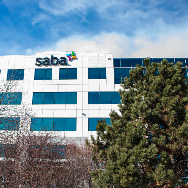 """""""HQ of Halogen Software, Now Owned By Saba Software"""" stock image"""