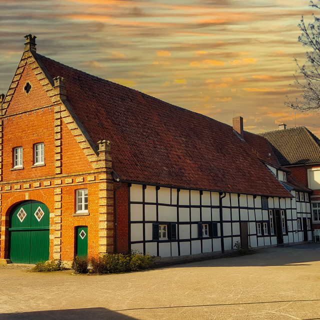 """Haus Siekmann in Sendenhorst"" stock image"