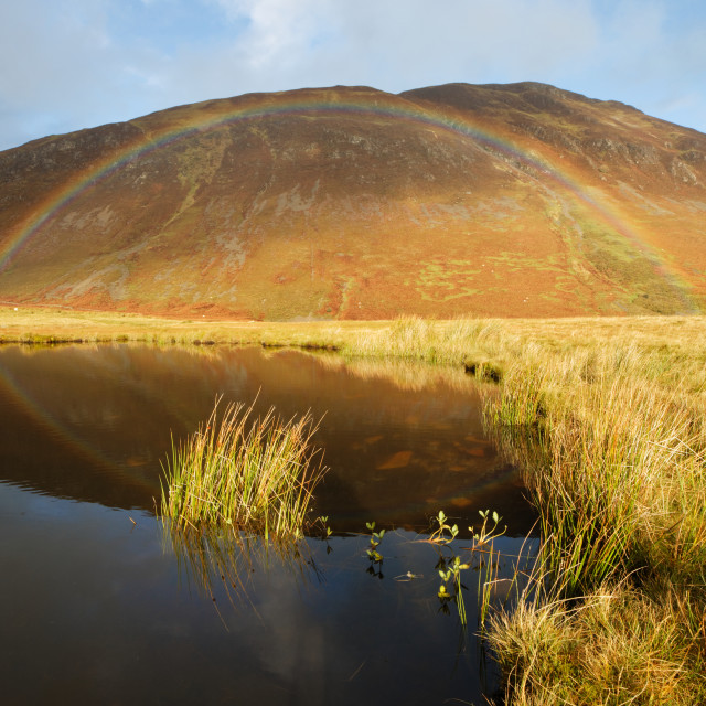 """Rainbow Hill"" stock image"