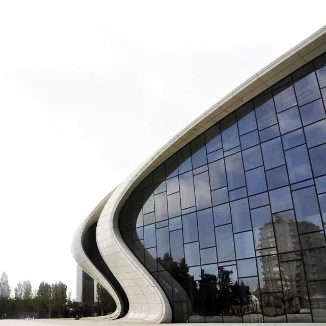 """Heydar Aliyev Center"" stock image"
