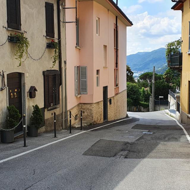 """Italian street"" stock image"