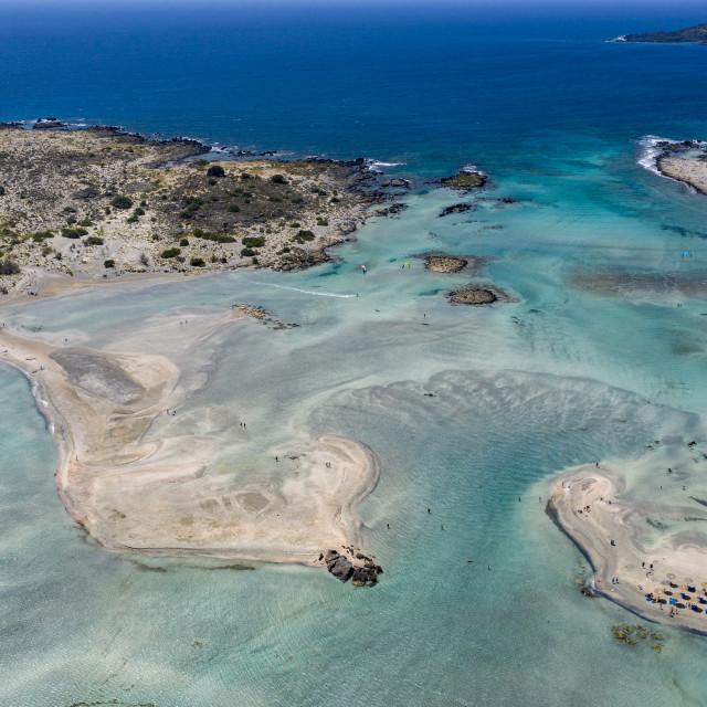 """Elafonissi beach - Crete"" stock image"