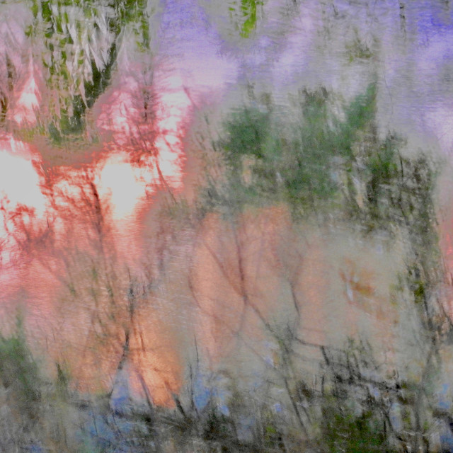 """Pastel Impressionism"" stock image"