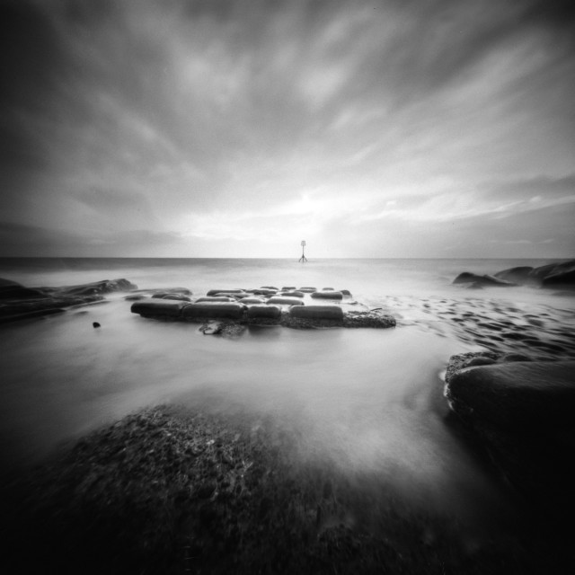 """Lensless Seascape"" stock image"