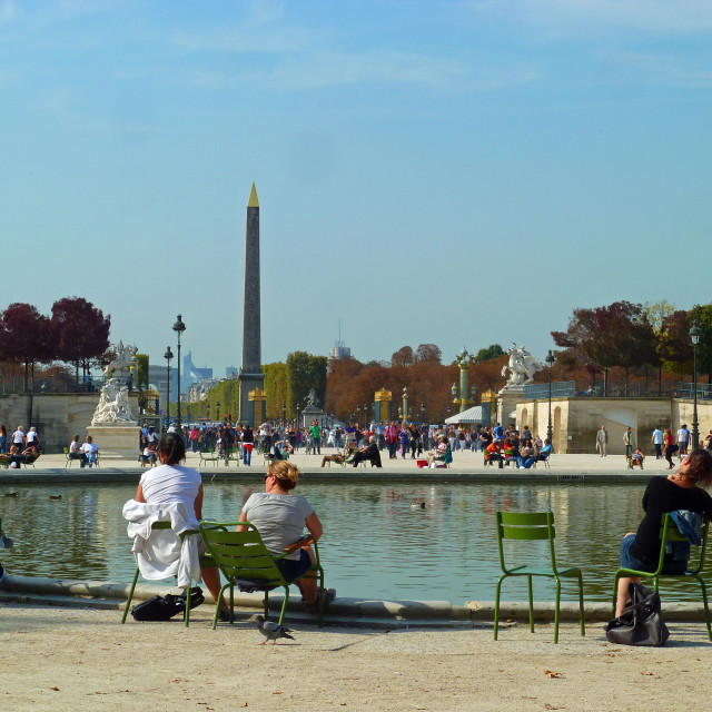 """Tuileries Garden Paris"" stock image"