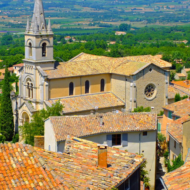 """Bonnieux Provence"" stock image"