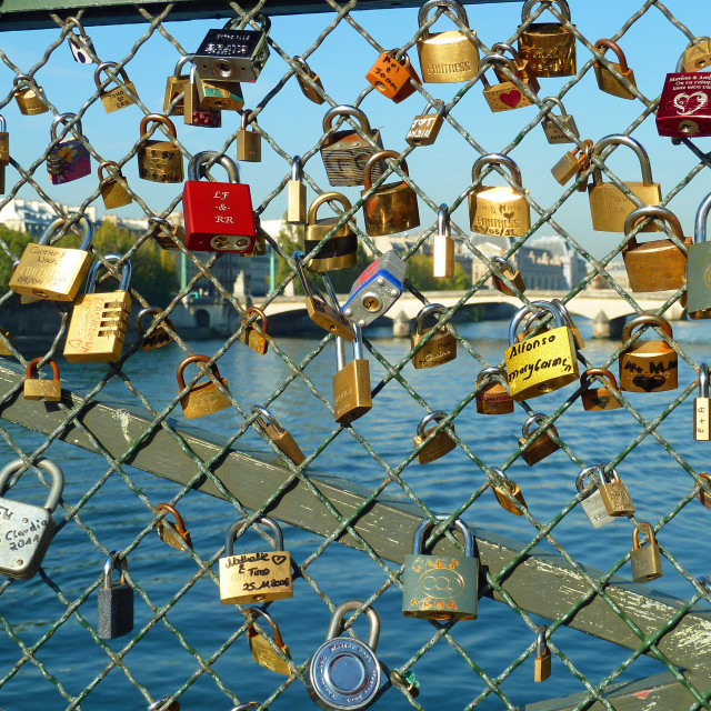 """Pont des Arts Paris France"" stock image"