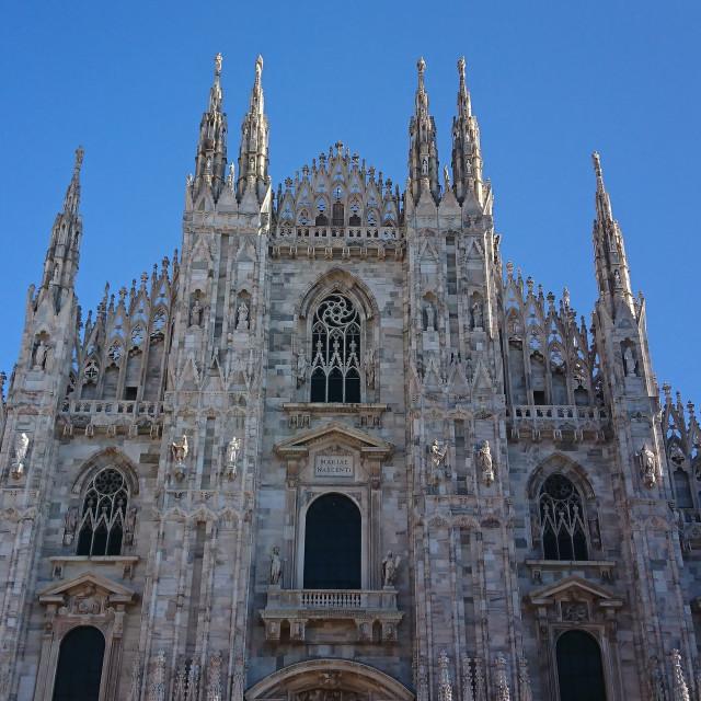"""""""Duomo Milano"""" stock image"""