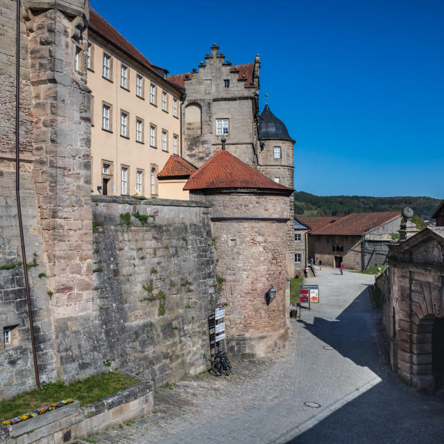 """Fortress Rosenberg of Kronach"" stock image"
