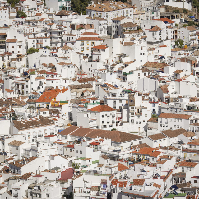 """""""Andalusian mountain village"""" stock image"""