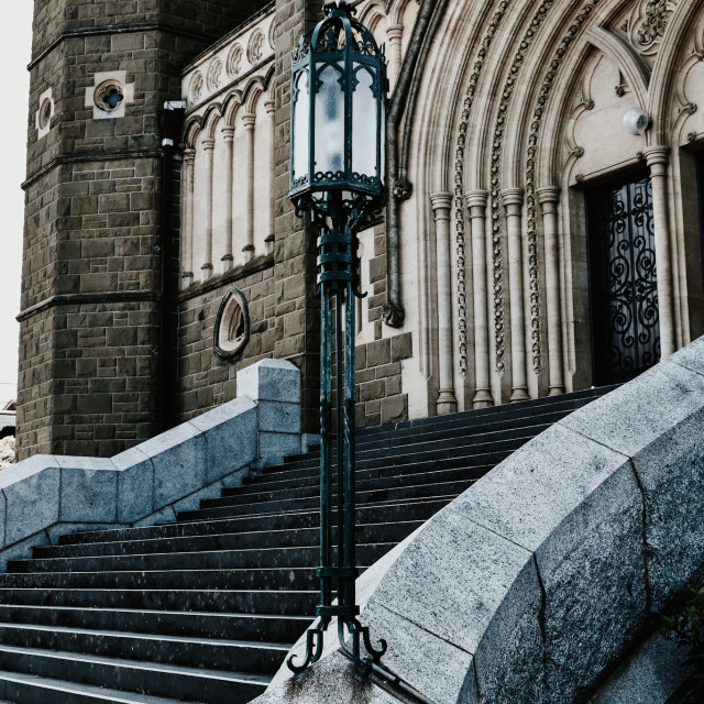 """""""Cathedral Steps"""" stock image"""