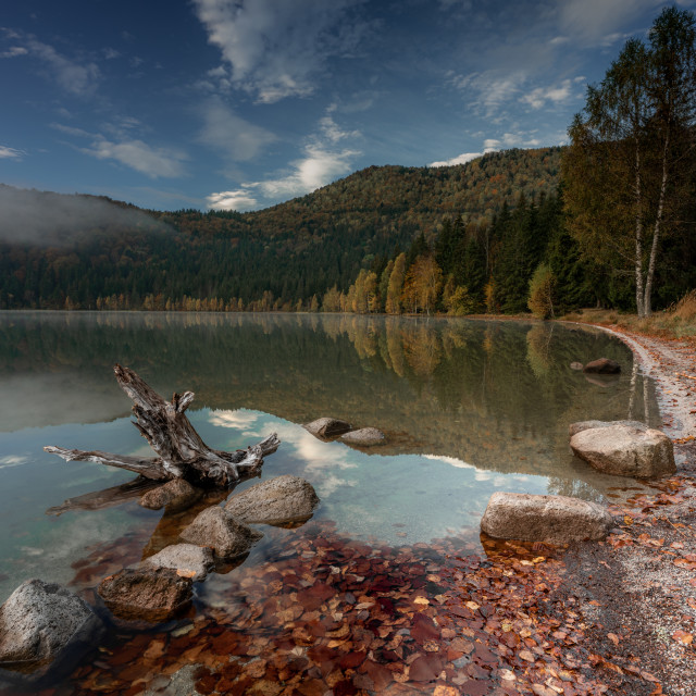 """Saint Anne Lake - Harghita, Romania"" stock image"