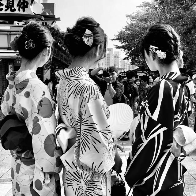"""Asakusa Geisha District in Tokyo"" stock image"