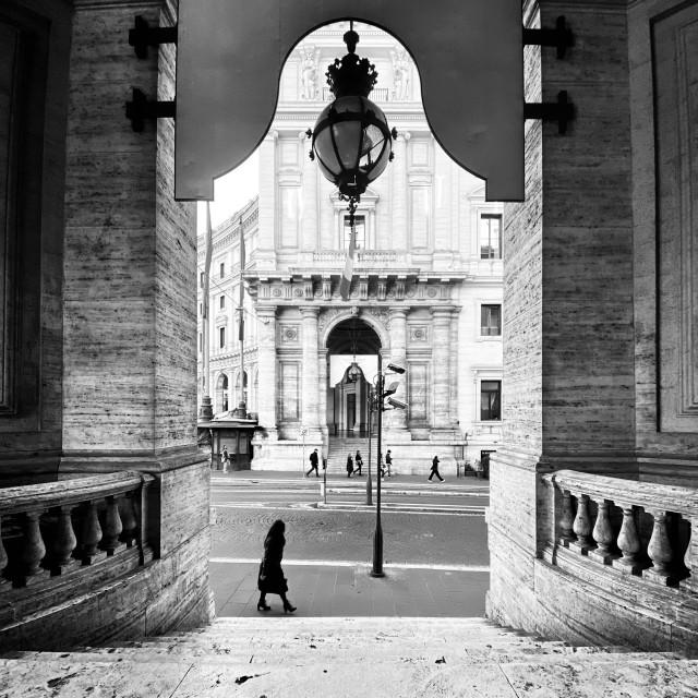 """Piazza Esedra, Rome"" stock image"
