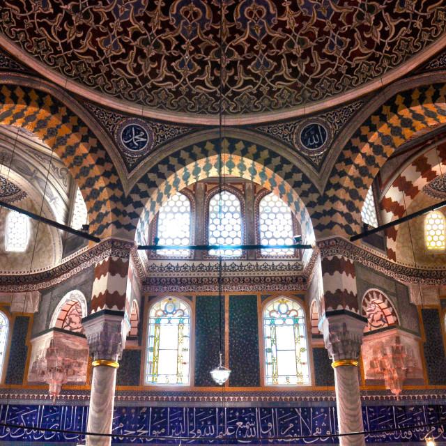 """""""Sultanahmet Mosque"""" stock image"""