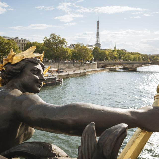 """""""Pont Alexandre III, Paris, Île-de-France, France, Europe"""" stock image"""