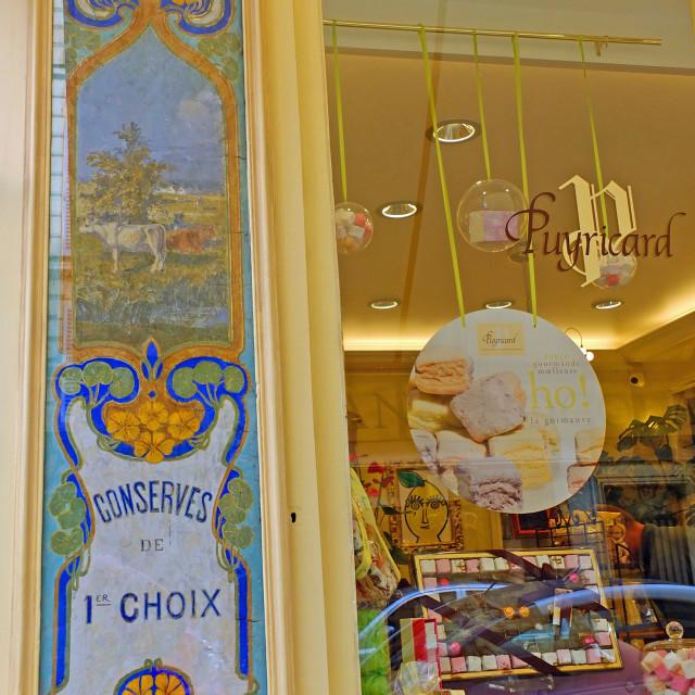"""""""Shop front in the Marais district Paris France"""" stock image"""