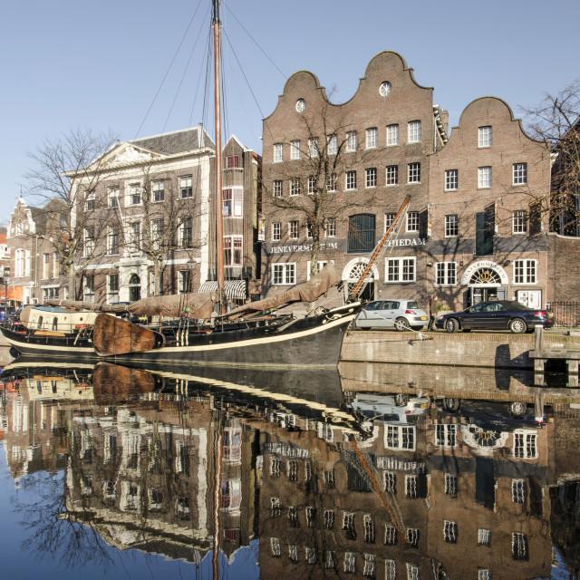 """Schiedam Gimmuseum"" stock image"