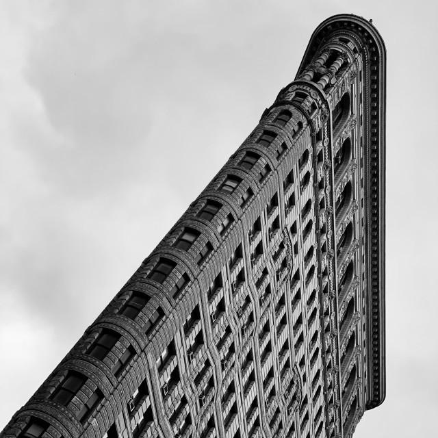 """Flatiron building, Manhattan"" stock image"