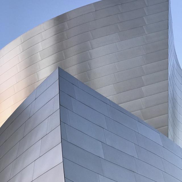 """The Walt Disney Concert Hall, Los Angeles California"" stock image"