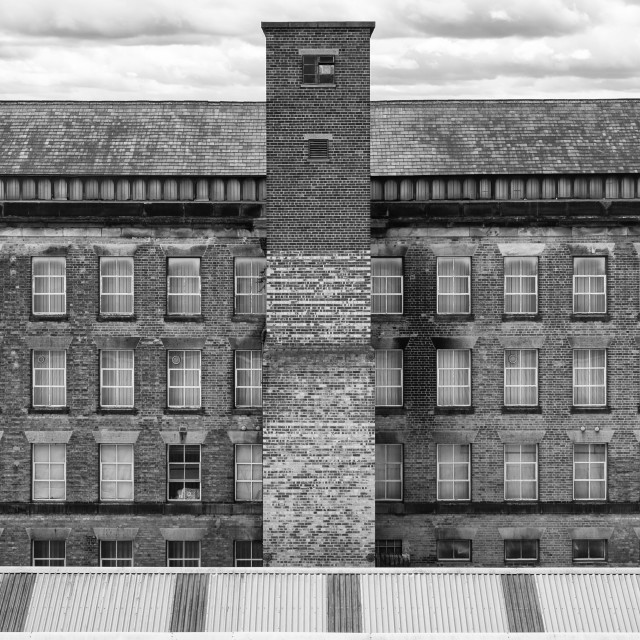 """""""Former Factory / mill"""" stock image"""