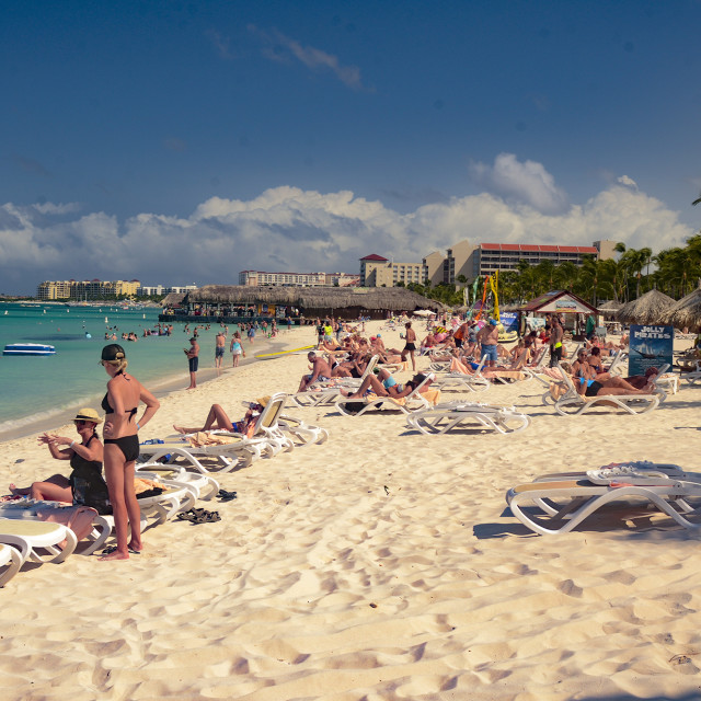 """Aruba Beach"" stock image"