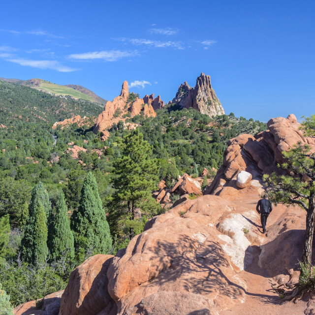 """Garden of the Gods 2"" stock image"