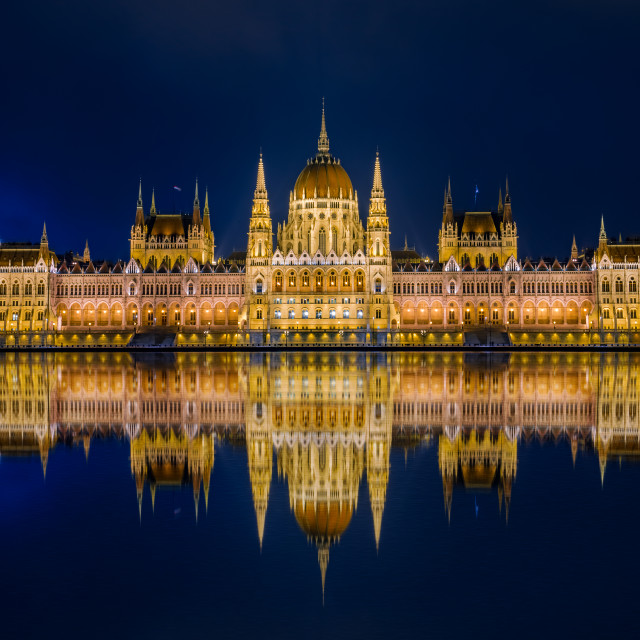 """Hungarian Parliament Budapest"" stock image"