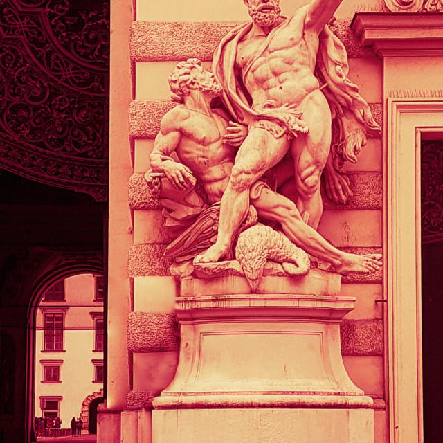 """Heracles & Prometheus"" stock image"