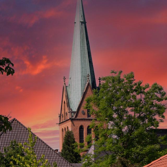 """St.Josef-Stift"" stock image"